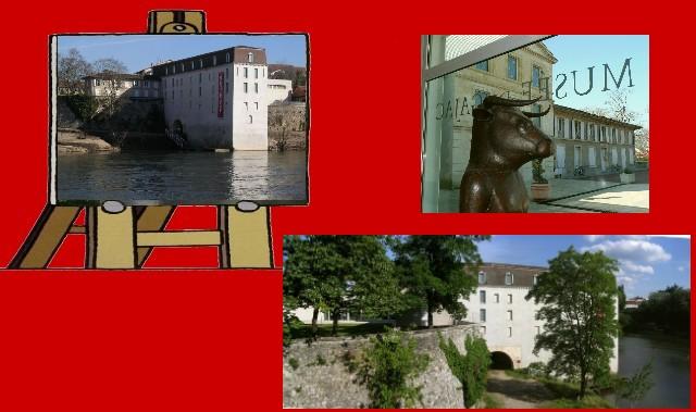 Le Lot, le moulin et le musée