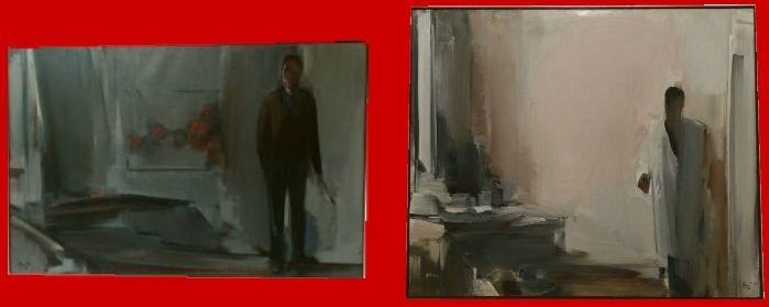 AGUAYO Fermin Le peintre et le grand atelier