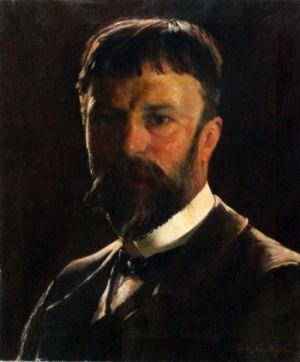 Crochepierre_autoportrait 1885