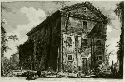 PIRANESE Temple de Bacchus